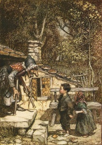 http://en.wikipedia.org/wiki/File:Hansel-and-gretel-rackham.jpg