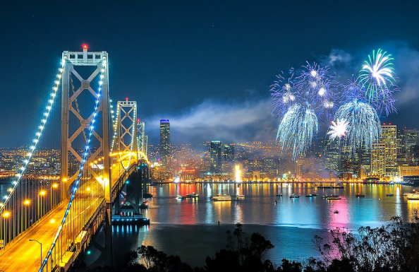 Photo from http://sf.funcheap.com/san-francisco-new-years-eve-fireworks/